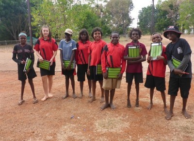Teaming up with school kids on animal health